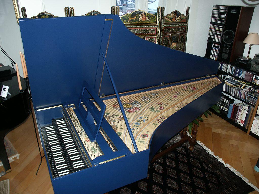 clavecin harpsichord hemsch