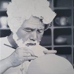 portrait huile