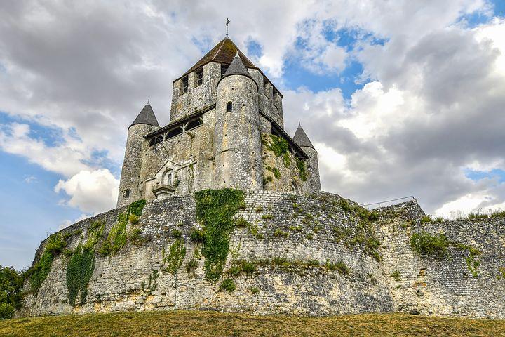 rocher forteresse refuge